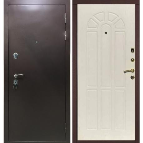Входная металлическая дверь Зенит-2 белёный дуб