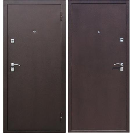 Дверь Стройгост 1 металл/металл