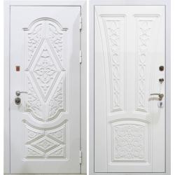 Модель S-13 белая входная дверь