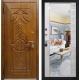Дверь Гарда S-15 с зеркалом