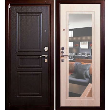 Входная дверь с зеркалом «Аргус Рубеж М-3»