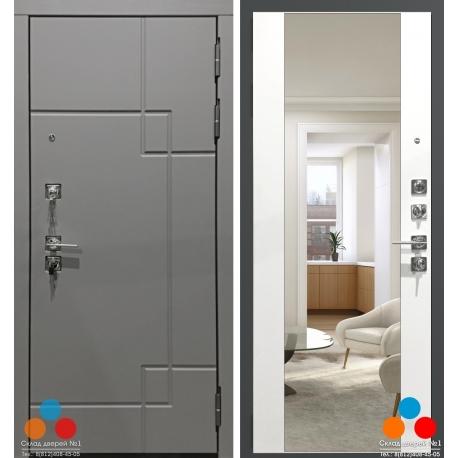 Дверь Garda S19 с Зеркалом