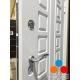 Дверь Кондор X4 Белая шагрень