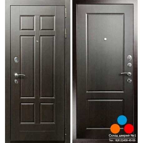 """Дверь Гранит Ультра С1 """"Венге"""""""