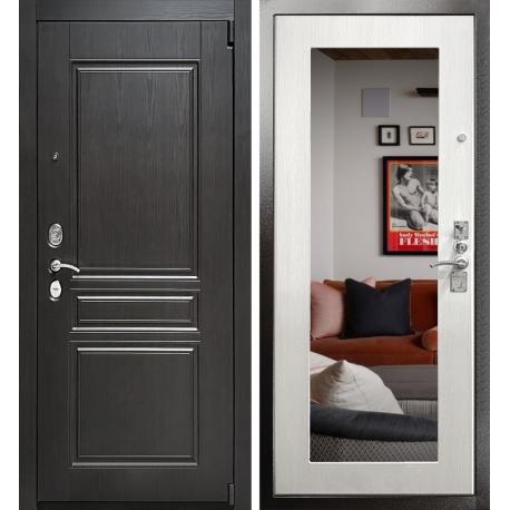 входная дверь с зеркалом Гранит ULTRA M3