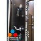 Дверь Garda S1 Медь Антик