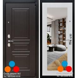 Дверь Зенит-5 с зеркалом (Выбор 5)