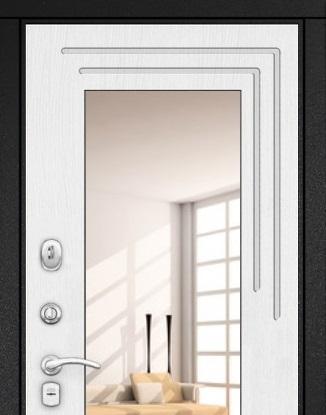 Дверь Гарда S7 с зеркалом купить