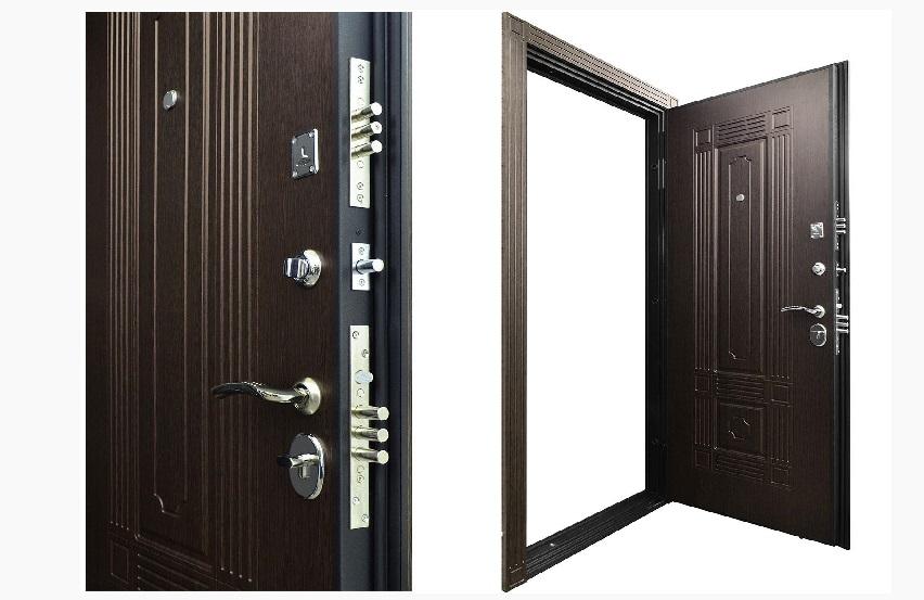 входные двери в квартиру цена с установкой под ключ