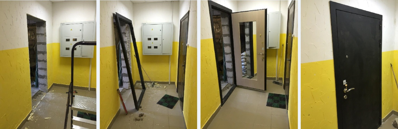 стальные двери с склада