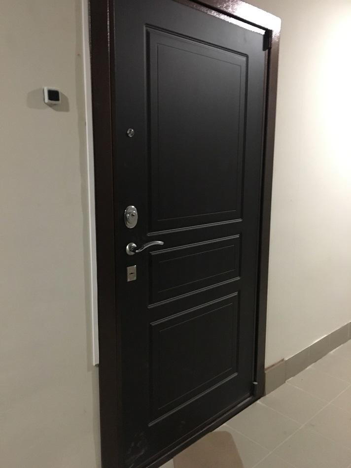 монтаж двери Кондор М3 с зеркалом